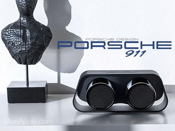 porsche design 911 speaker enceinte bluetooth prix 1 - Echappements Porsche 911 en Enceinte sans Fil (images)