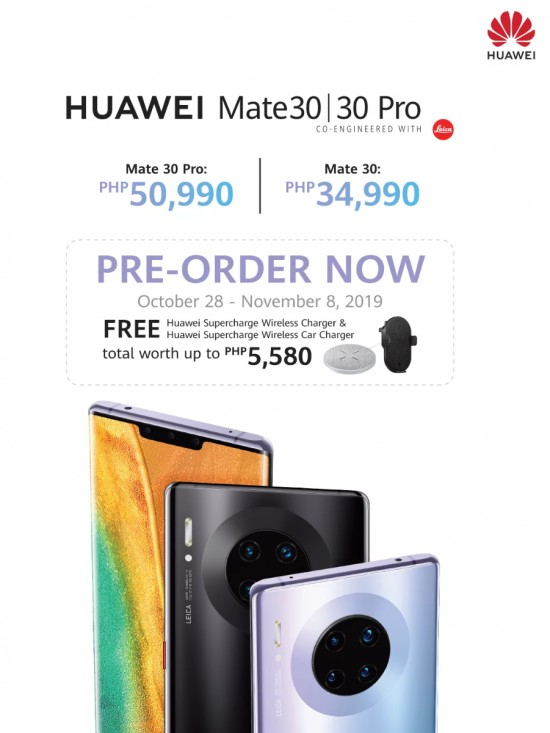 Huawei begins pre-orders for Mate 30 series in The Philippines