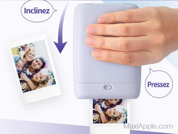 instax mini link mobile imprimante iphone smartphone maxiapple 05 - Instax Mini Link, l'Imprimante Nomade pour iPhone (video)