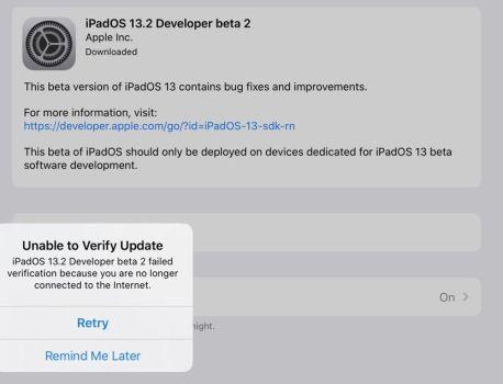 iPadOS 13.2 : Apple bloque la bêta 2 qui bloquait certains iPad Pro – iGeneration