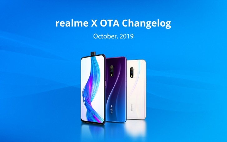 Latest Realme X update brings Digital Wellbeing, security patches