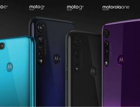 Motorola One Macro, Moto G8 Plus, G8 Play, and E6 Play announced