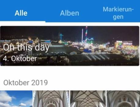 OneDrive Beta for Android now has an On This Day feature