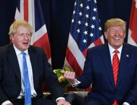Pour Donald Trump, l'accord du Brexit de Johnson ne permet pas d'accord commercial avec les Etats-Unis – 20 Minutes