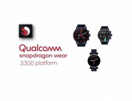 Qualcomm Snapdragon Wear 3300 SoC may be announced soon