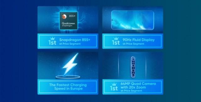 Realme X2 Pro will feature a center-aligned 64MP quad camera setup