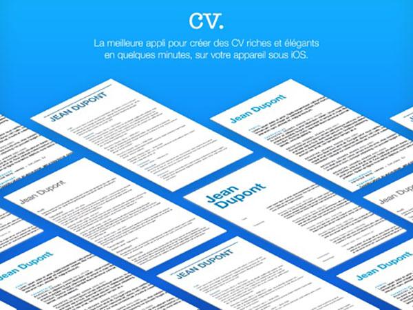 resume builder iphone ipad  u2013 g u00e9n u00e9rateur de cv curriculum