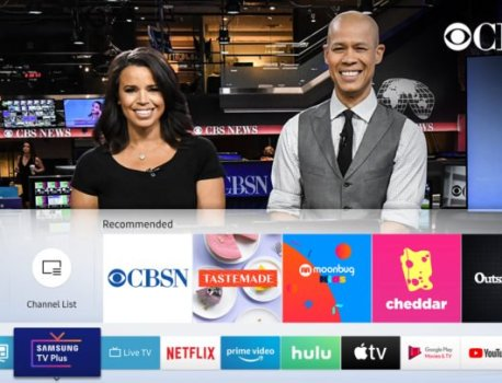 Samsung TV Plus adds CBSN to its growing 70+ TV channel portfolio