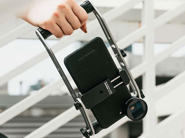 sandmarc film rig stabilisateur iphone smartphone maxiapple 02 - SandMarc Film Rig, Stabilisateur iPhone pour Réalisateur (video)