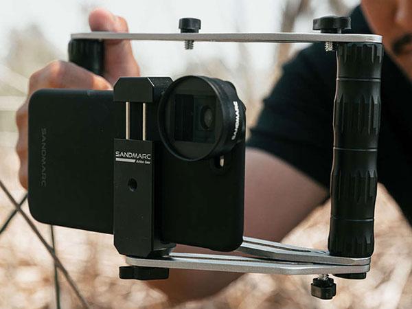 sandmarc film rig stabilisateur iphone smartphone maxiapple 03 - SandMarc Film Rig, Stabilisateur iPhone pour Réalisateur (video)