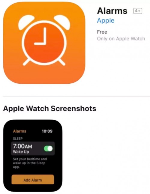 "Screenshot from Apple Alarms app hints at upcoming ""Sleep"" app"