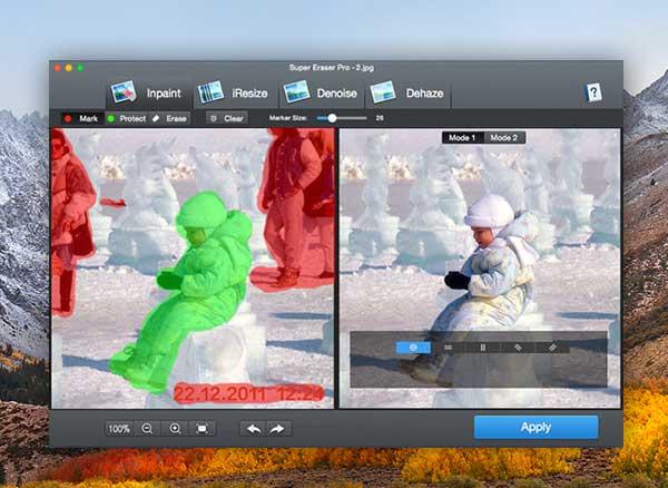 super eraser pro macos mac 1 - Super Eraser Mac - Effacer des Elements d'une Photo (gratuit)