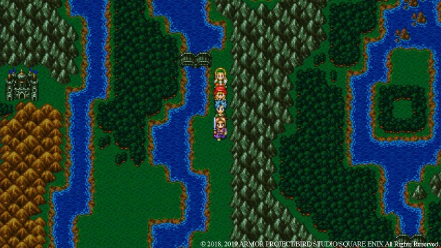 Dragon Quest 11 en 2D