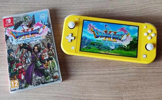 Dragon Quest XI sur Nintendo Switch Lite