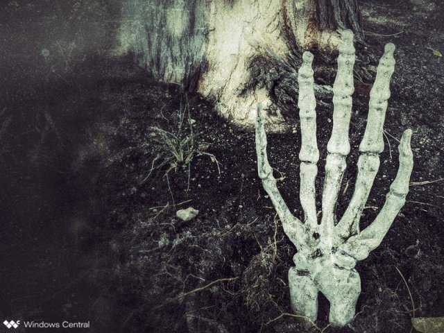 Skeletal Hand in dirt