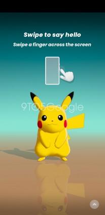 Pokemon Wave Hello with Soli motion controls