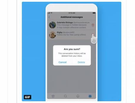Twitter rolls out Direct Message filter for all users