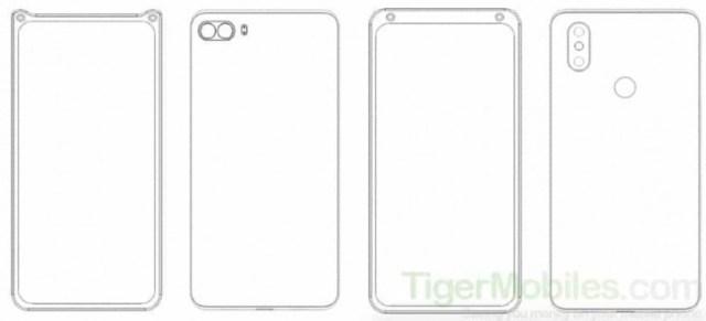 Xiaomi patents a corner selfie camera design