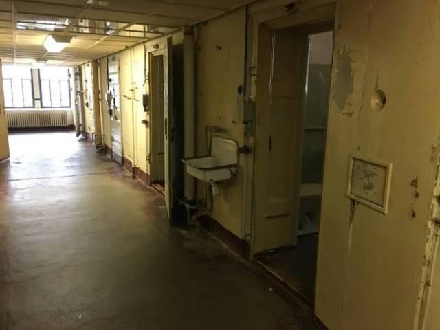 L'ancienne prison de la Stasi à Erfurt (Allemagne), le 30 octobre 2019.