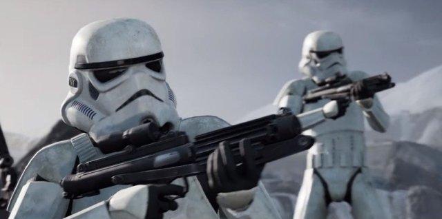Stormtroopers in Star Wars Jedi: Fallen Order.