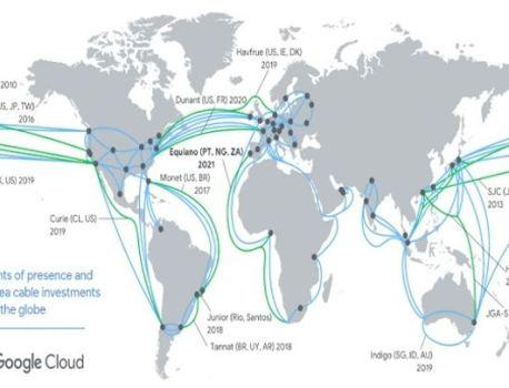 Amérique : Google a terminé l'installation de son câble Internet sous-marin Curie