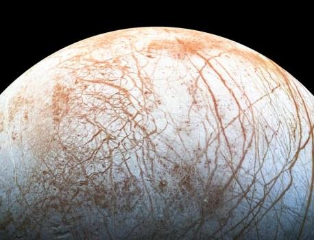 Astronomers Detect Water Vapor Around Jupiter's Moon Europa