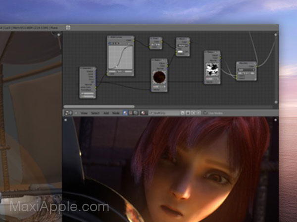 blender 3d 2 macos mac gratuit 02 - Blender 2 Mac - Création et Animation 3D Pro (gratuit)