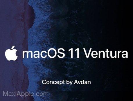 Ce Concept macOS 11 Met l'iPadOS dans le Mac (video)