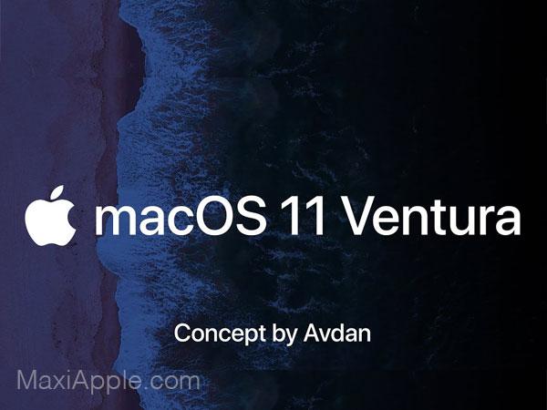 concept macos 11 ventura avdan video 01 - Ce Concept macOS 11 Met l'iPadOS dans le Mac (video)