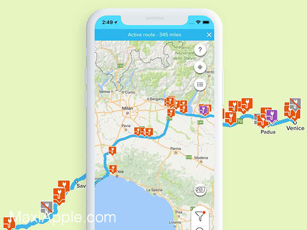 chargemap iphone ipad 02 - ChargeMap iPhone - Bornes de Recharge pour Voitures Electriques (gratuit)