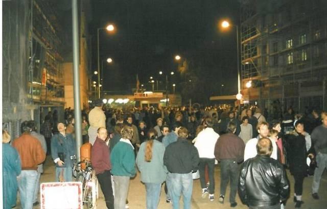 La foule était nombreuse dans les rues, la fête a duré plusieurs jours