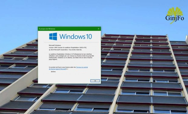 Windows 10 v1909 alias November 2019 Update