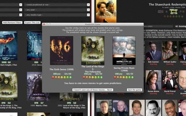 coollector macos mac gratuit 1 - Coollector Mac - Gestion de Films DVD et Séries TV (gratuit)