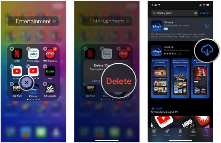 Delete your app, confirm, download it again