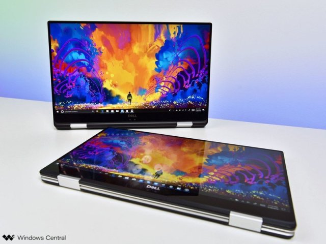 The Dell XPS 15 2-in-1.