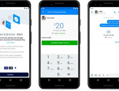 Facebook Pay launches in the US, plans to work across Messenger, Instagram, and WhatsApp