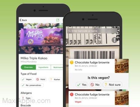 Food Scanner iPhone – Scanner de Produits Alimentaires (gratuit)