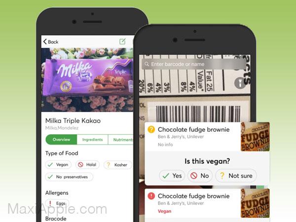 food scanner app iphone ipad 1 - Food Scanner iPhone - Scanner de Produits Alimentaires (gratuit)