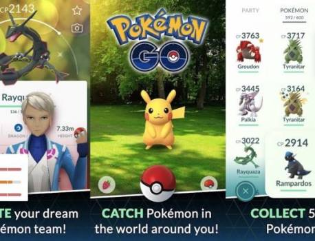 Galaxy Store, Play Store Pokemon Go stop working for two accounts