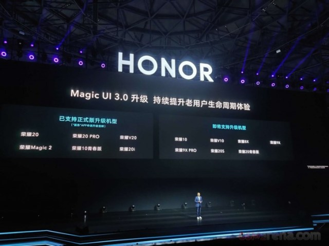 Honor confirms list of phones to get Magic UI 3.0