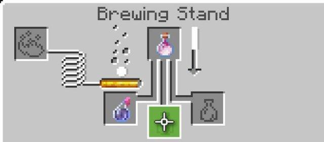 Lingering potion recipe
