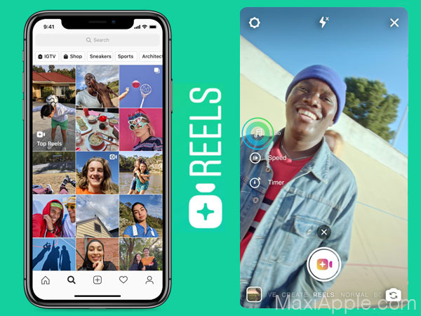 instagram reels iphone android copie tiktok clone 02 - Instagram Reels iPhone, une Alternative à TikTok ?! (gratuit)