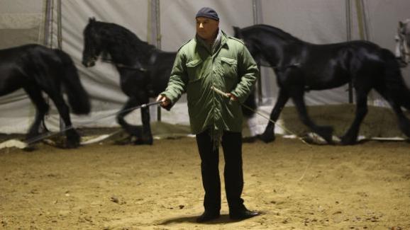 La cavalerie Gruss est une tradition. Elle est généralement gérée par un membre de la famille.