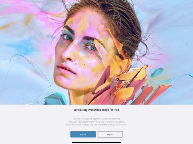 adobe photoshop ipad capture