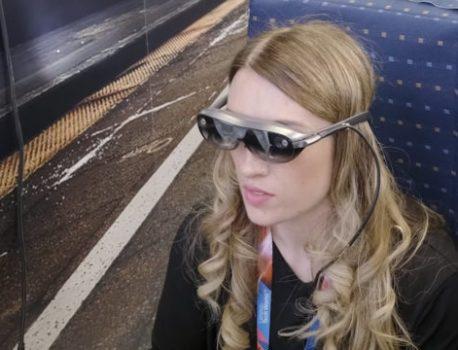 Lenovo dévoile un prototype de lunettes de réalité augmentée (AR Concept Glasses)