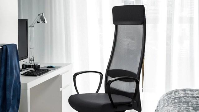 Ikea's MARKUS chair.
