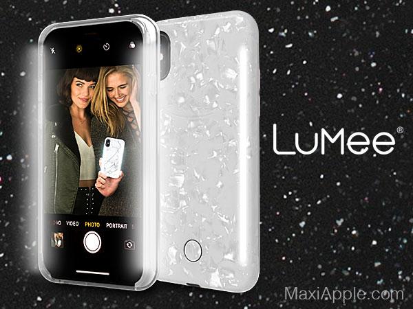coque flash led lumee duo pearl iphone 11 02 - LuMee Duo Pearl iPhone 11, Protection à Double Flash LED (video)