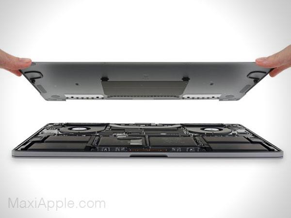 demonter macbook pro 16 2019 ifixit clavier 3 - MacBook Pro 16, Impossible à Démonter et à Faire Evoluer (video)
