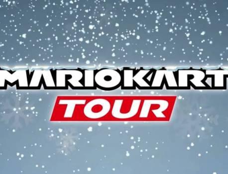 Mario Kart Tour moves on from Paris to Winter Tour