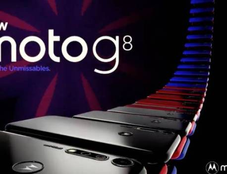 Moto G8 promo image leaked before official launch